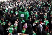 همایش شیرخوارگان حسینی در 200 نقطه استان سمنان برگزار شد