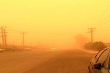 وضعیت هشدار برای هوای نواحی مرزی استان کرمانشاه