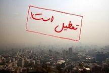 مدارس تهران و شهرستانهای تهران چهارشنبه هم تعطیل شدند