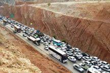 ترافیک در جاده های همدان سنگین است