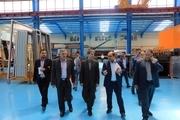 استاندار آذربایجان غربی از شهرک صنعتی ارومیه بازدید کرد