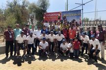 تیم گلستان قهرمان والیبال ساحلی امیدهای کشور شد