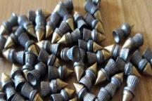 161 میلیارد ریال ساچمه قاچاق تفنگ بادی در هیرمند کشف شد