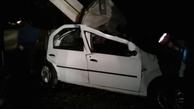 برخورد خودرو با تیر برق، شهرک فرهنگیان بجنورد را به خاموشی برد