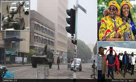کودتا  در زیمبابوه+ تصاویر