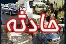 تصادف اتوبوس بی آرتی با خودرو سمند در تهران یک کشته و یک مصدوم داشت