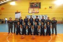 تیم بسکتبال گچساران آینده سازان یزد را شکست داد