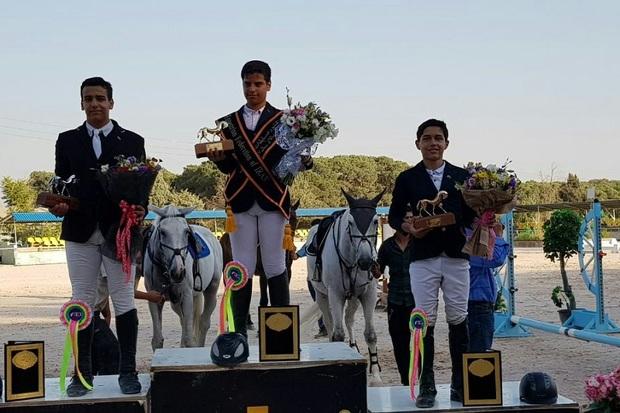 سوارکار نوجوان ارومیه ای مدال برنز کشور را بر گردن آویخت
