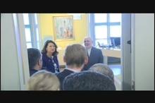 دیدار ظریف با وزیر تجارت سوئد