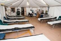 چهار بیمارستان صحرایی و تک تخصصی در کردستان برپا می شود