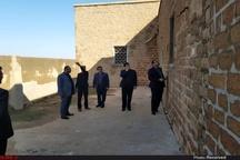 بازدید سرپرست اداره کل میراث فرهنگی خوزستان از آثار تاریخی کوشک حمیدیه+ تصاویر
