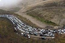 ترافیک مسیر خروجی جاده های مازندران سنگین است
