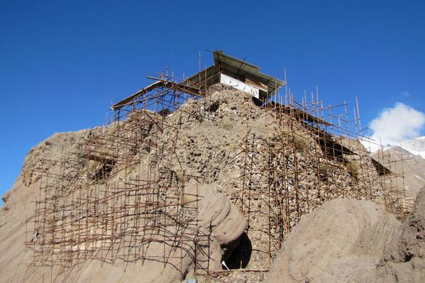 مطالعات باستان شناسی الموت پس از 4 سال وقفه آغاز شد