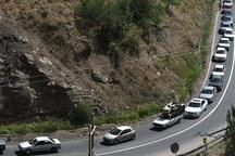 پلیس راه البرز مسافران را همراهی می کند