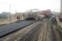 103 کیلومتر آسفالت راه روستایی در کهگیلویه در دست اجراست