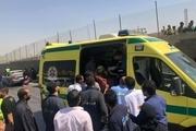 حمله تروریستی به یک اتوبوس گردشگران خارجی در مصر+تصاویر