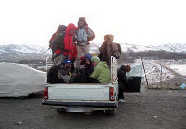 جابجایی مسافر در قسمت بار وانت و کامیون ممنوع است