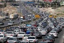بیشترین تردد خودروها در محورهای اصفهان به کاشان و شهرضا است