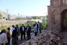 عملیات بازسازی باغ کلانتر کرمان ۱۵ درصد پیشرفت دارد