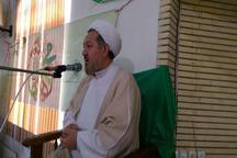 برگزاری جشن وحدت در مجتمع فرهنگی آستان مقدس قم در رضوانشهر