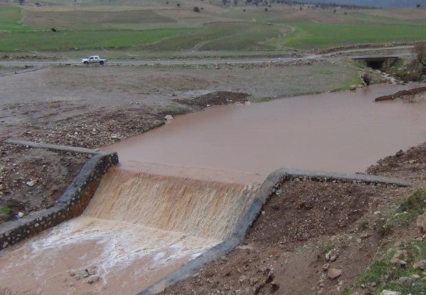بخش زیادی از سیلاب ها توسط بندهای آبخیزداری مهار شد