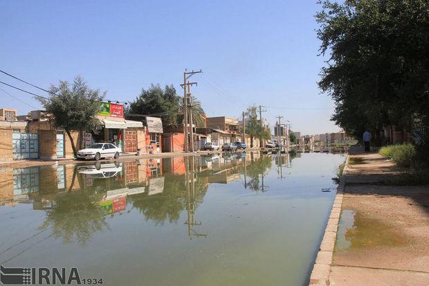 هشدار در مورد خطرات مشکلات فاضلاب خوزستان