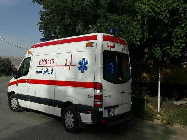 واژگونی وانت نیسان در گتوند یک کشته برجا گذاشت