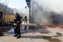 122 حادثه آتش سوزی عمدی در بندرعباس