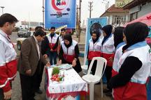 طرح نوروزی هلال احمر در سیستان و بلوچستان آغاز شد