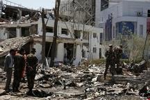 حمله انتحاری به فرودگاه جلالآباد افغانستان