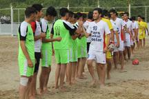 8 تیم راه یافته به مرحله دوم مسابقات فوتبال ساحلی جوانان مشخص شد