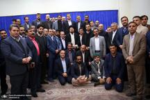 دیدار رئیس و اعضای شورای عالی استان ها با سید حسن خمینی