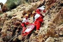 نجات کوهنورد گمشده در ارتفاعات قلعه رودخان گیلان