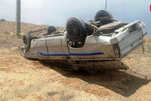 واژگونی خودرو در سردشت یک کشته و 2 مصدوم برجا گذاشت
