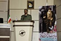 آیین نمادین ورود امام خمینی(ره) به میهن درنوشهر برگزار شد