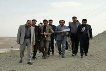 بازدید رئیس سازمان برنامه و بودجه و فرماندار دیواندره از سد سیازاخ