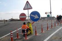 نیمی از جاده های اصفهان با کمبود تابلوی ایمنی مواجه است