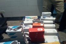محموله تلفن همراه قاچاق در رودبار جنوب متوقف شد
