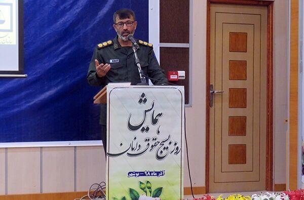 جانشین سپاه بوشهر:رهبری در حوادث اخیر خود را هزینه کرد