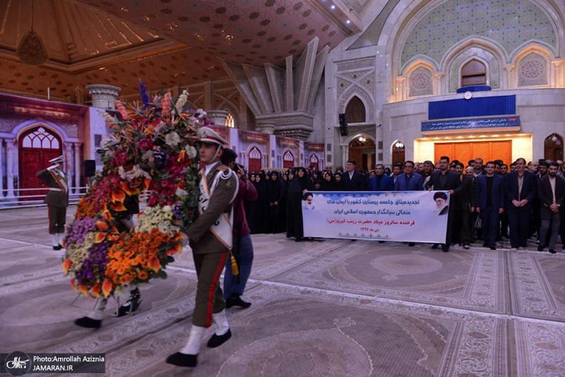 تجدید میثاق جامعه پرستاری با آرمان های امام خمینی(س)