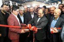 وزیر صنعت یک واحد تولیدی را در گرمسار افتتاح کرد