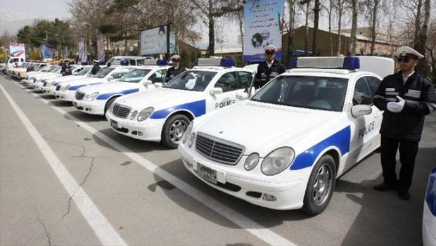 رزمایش ترافیکی نوروزی پلیس راه مازندران شروع شد