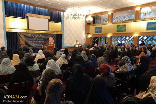مراسم بزرگداشت ارتحال امام خمینی(ره) در آلمان + تصاویر