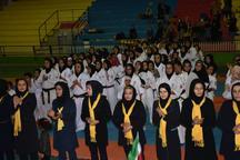 تیم کاراته بانوان ایران، قهرمان مسابقات بینالمللی شین کاراته در یزد شد