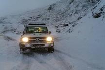 امدادرسانی هلال احمر قزوین به 96 مسافر گرفتار در برف و کولاک
