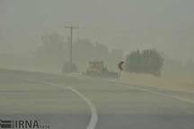 توفان شن در زهک دید افقی را به 300 متر کاهش داد