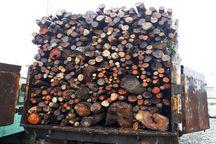 چوبآلات جنگلی قاچاق در آستارا توقیف شد