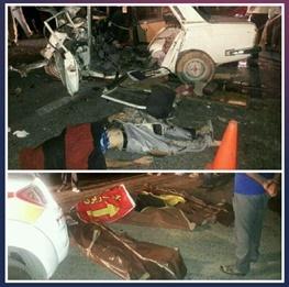 پنج کشته و زخمی در تصادف محور اقلید – یاسوج