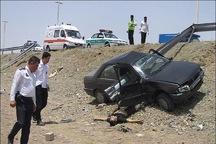 فوتی تصادفات رانندگی در چهارمحال وبختیاری 27.5درصد افزایش یافت