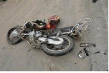 یک کشته و یک مصدوم بر اثر برخورد دو موتور سیکلت در نایین